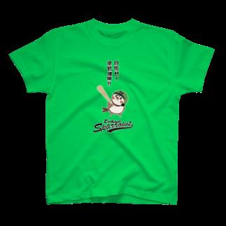 aliveONLINE SUZURI店の東京Sparrows T-shirts