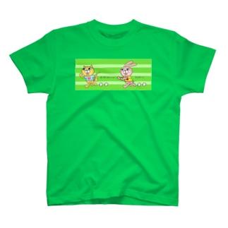 ランニングマン T-shirts
