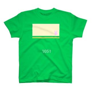 江ノ電1051っぽくて青春ブタ野郎はバニーガール先輩の夢を見ないっぽい T-shirts