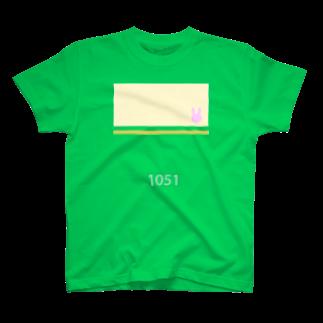 もろっこレーシングの江ノ電1051っぽくて青春ブタ野郎はバニーガール先輩の夢を見ないっぽい T-shirts