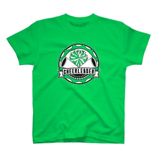 チアリーダー・エンブレム T-shirts