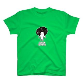 OZA_WORLDのロゴ(カラーTシャツ用) T-shirts