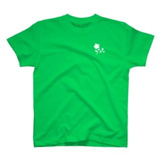シンプル花 T-shirts