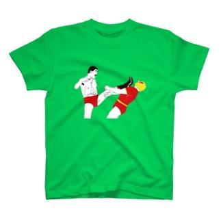 Drecome_Designの16文キック T-shirts
