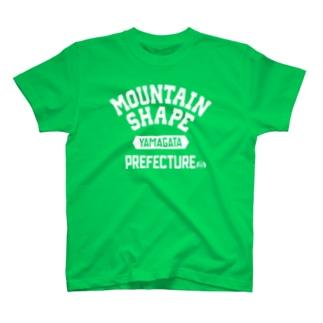 山形県 MOUNTAIN SHAPE T-shirts