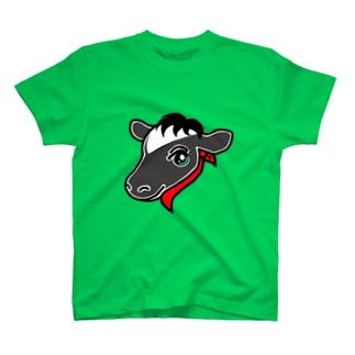 ウシ子 T-shirts