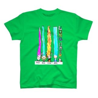 RONG HAIR T-shirts