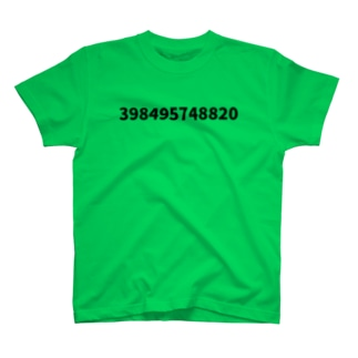 12 digit number T-shirts
