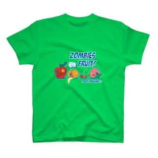 Zombies Fruit!☆C T-shirts