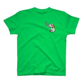 お花ぞうさん T-shirts