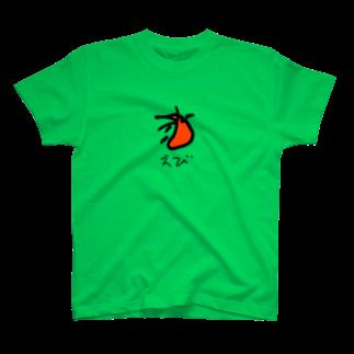スペースさねぴのえび T-shirts