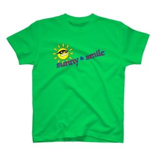 sunny & smile T-shirts