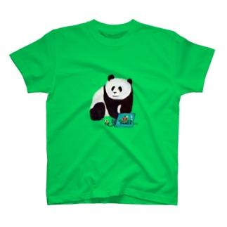 IT系のパンダ T-shirts
