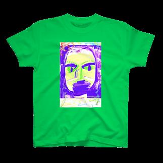FRESH⭐︎DRAWING 2020のはるのかお T-shirts