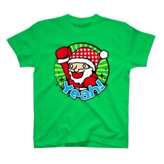 ハイテンションサンタ★クリスマスだYeah! T-shirts