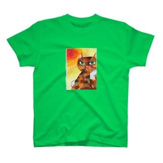 コケねこさんと情熱 T-shirts