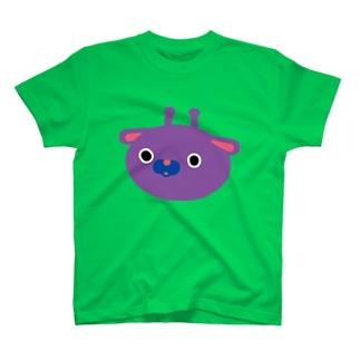 まるいきりん(大きめ) T-shirts