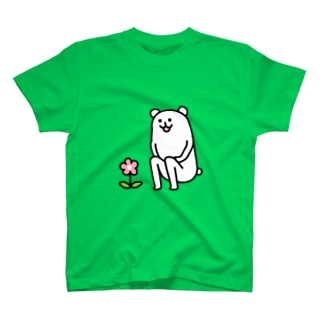 ろんぐま「きいてない」 T-shirts