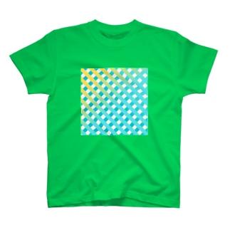 チェック Tシャツ T-shirts