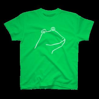 motoko torigoeのカエル2B T-shirts