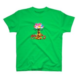 蓮のランプ T-shirts