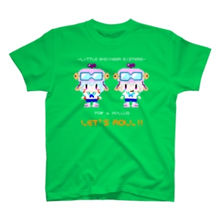 LITTLE ENGINEER SISTERS T-shirts