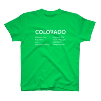 06_COLORADO_white T-shirts