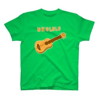 ウクレレTシャツ T-shirts
