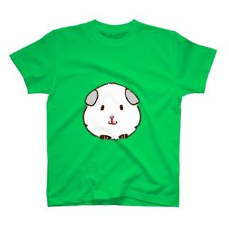 ホワイト コロちゃん T-shirts
