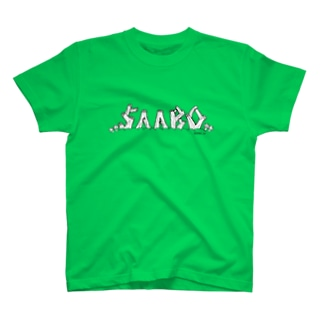 SAABOのSAABO LOG T-shirts