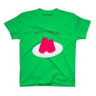 夏といえば T-shirts