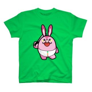 ストライクうさちゃん T-shirts