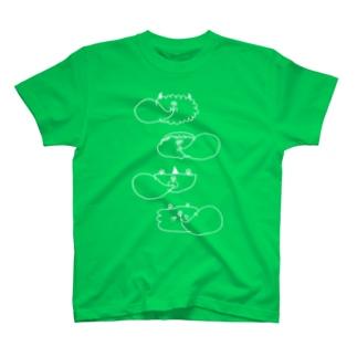 ふうせんがむ(濃色用) T-shirts