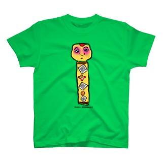 たこ坊主こけし T-shirts