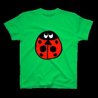 おしゃれブティック🌙*.。キルのてんとう虫くん T-shirts