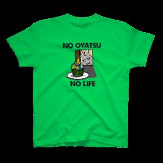 シノビアシのNO OYATSU NO LIFE~cupcake T-shirts