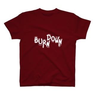 バーンダウン Tシャツ