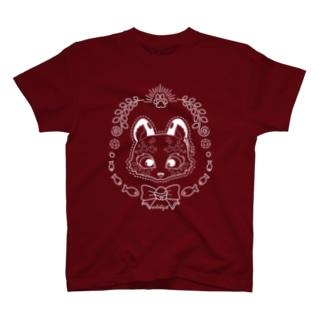 ユキヒョウの雪猫 Tシャツ