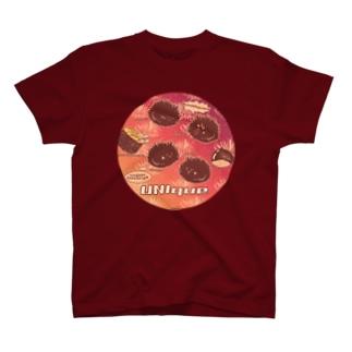 うにーく!チェリーバーガンディレッド T-shirts