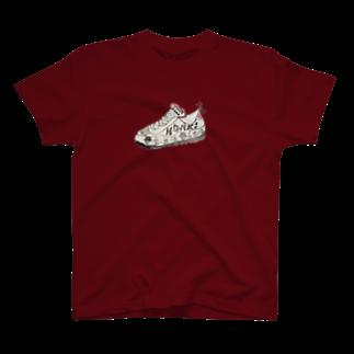 NM商会NAGオリジナルTシャツの虚無僧スニーカー T-shirts