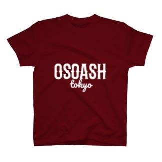 OSOASHTOKYOホワイト T-shirts