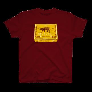 TRINCHのサンボ印の高級トラバター Tシャツ