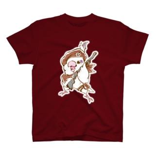 オサレ番長なマメルリハ隊員 T-shirts