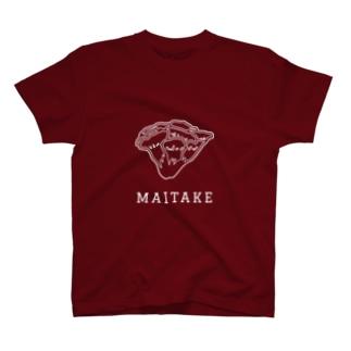 マイタケ_白線 T-shirts