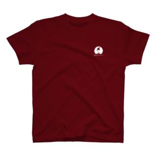 08_前面ロゴ小白抜き_多様な学びTシャツ T-shirts