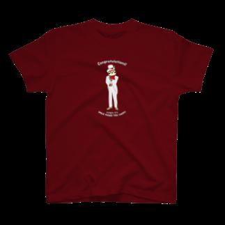 aliveONLINE SUZURI店のパーティだいきち(特別企画) T-shirts