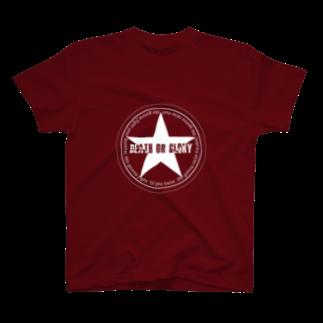 hexenschuss1112のですオアグローリー T-shirts