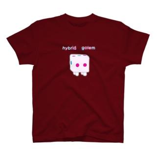 ハイブリッド ゴーレム T-shirts