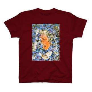 蝋で固めておいて T-shirts