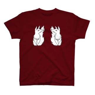 番の妖狐 T-shirts